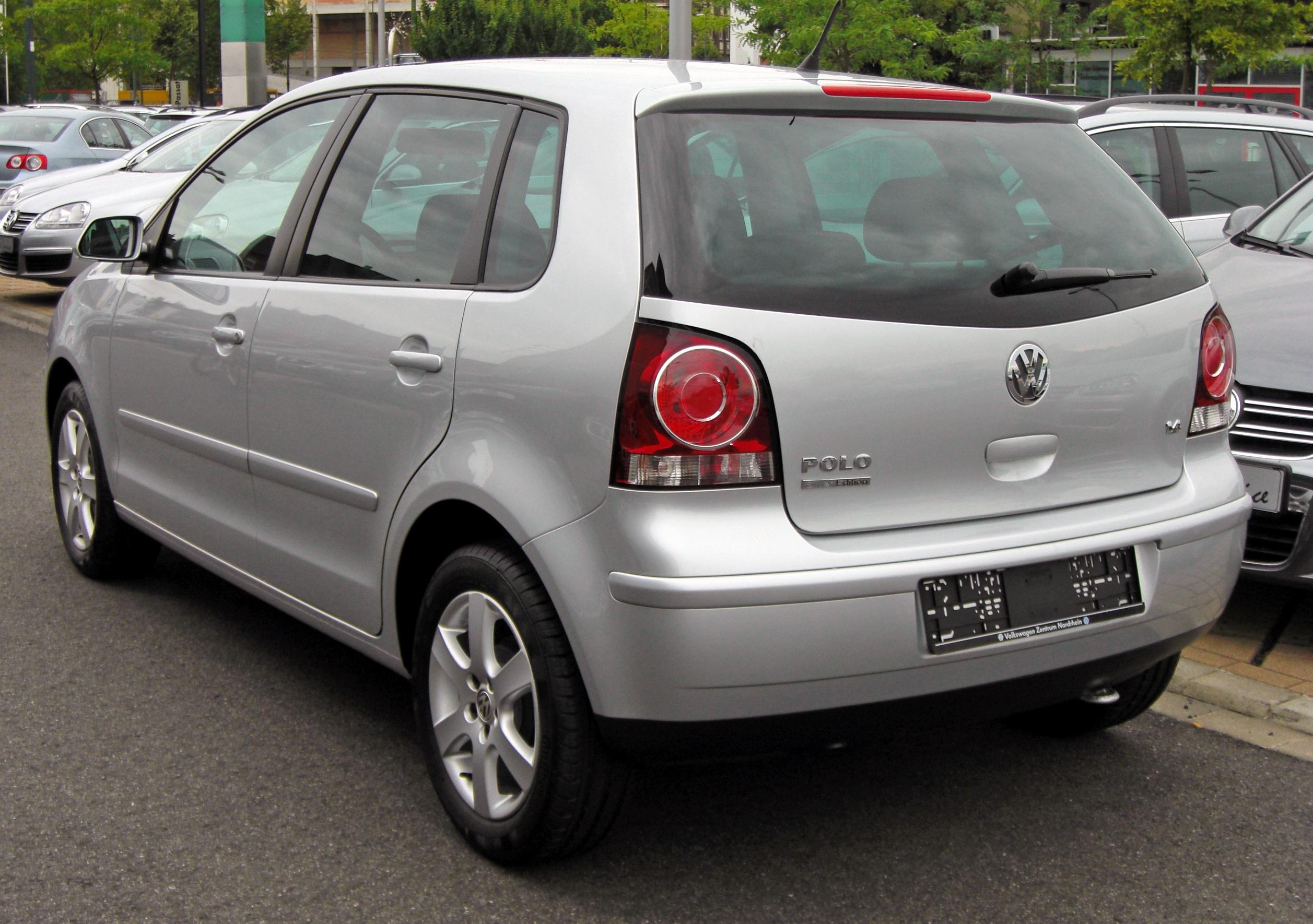 file vw polo iv facelift silver edition 20090620 rear jpg wikimedia commons. Black Bedroom Furniture Sets. Home Design Ideas