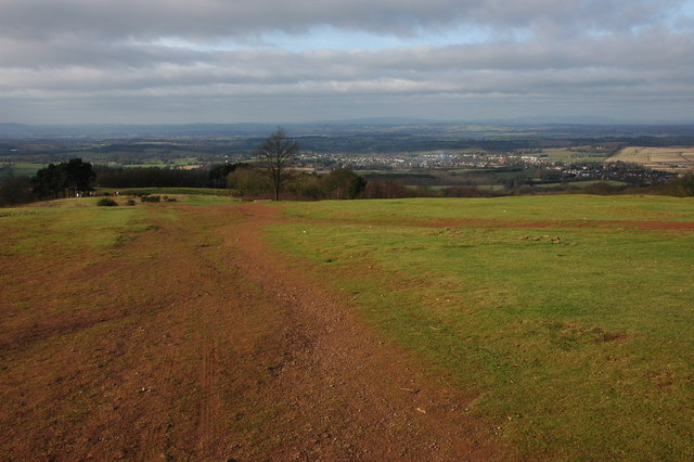 View to the west from the Clent Hills - geograph.org.uk - 674123