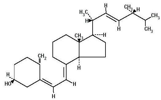 Vitamin d structural formula