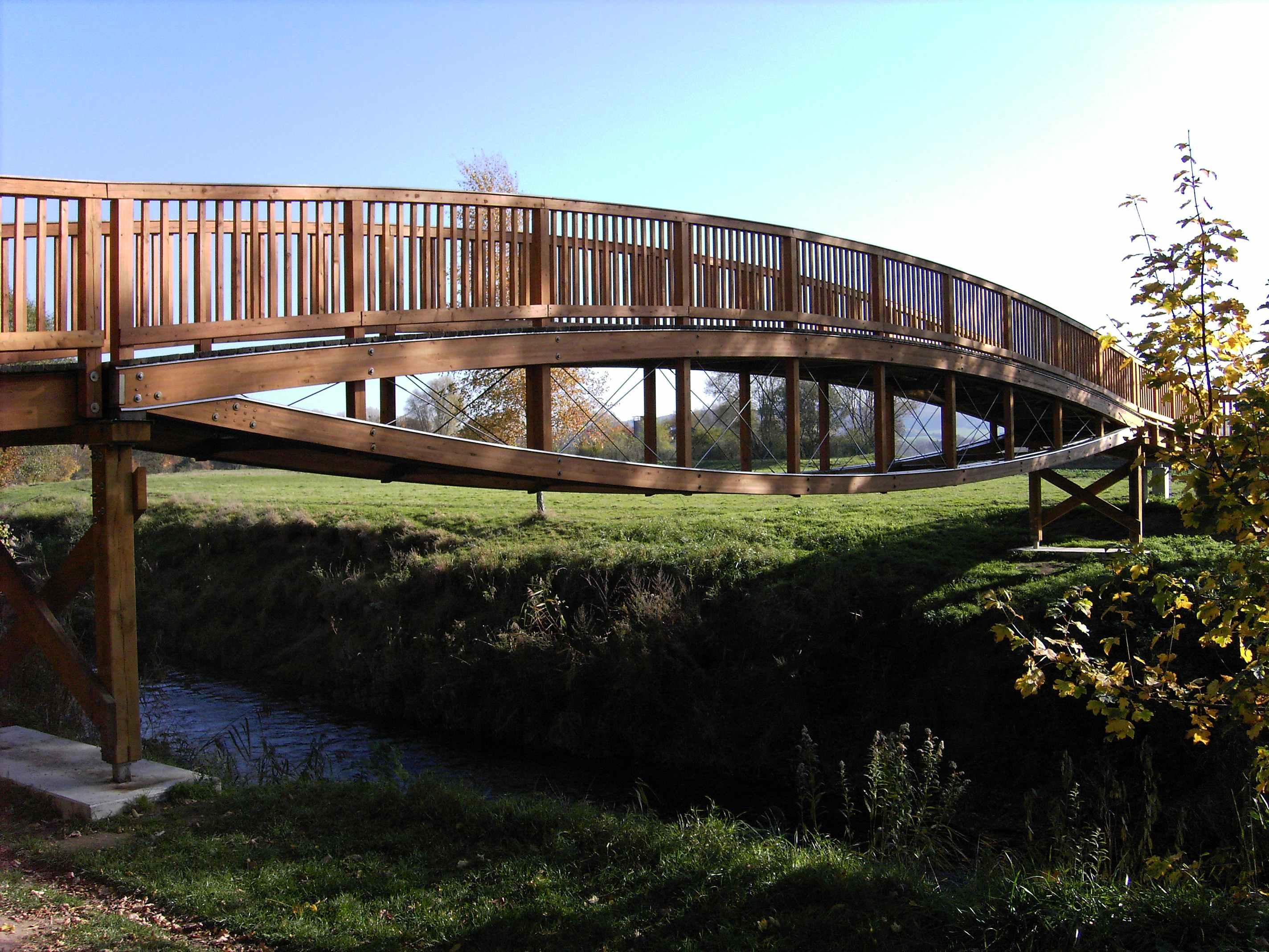 Fabriquer Un Petit Pont De Bois histoire des ponts en bois — wikipédia