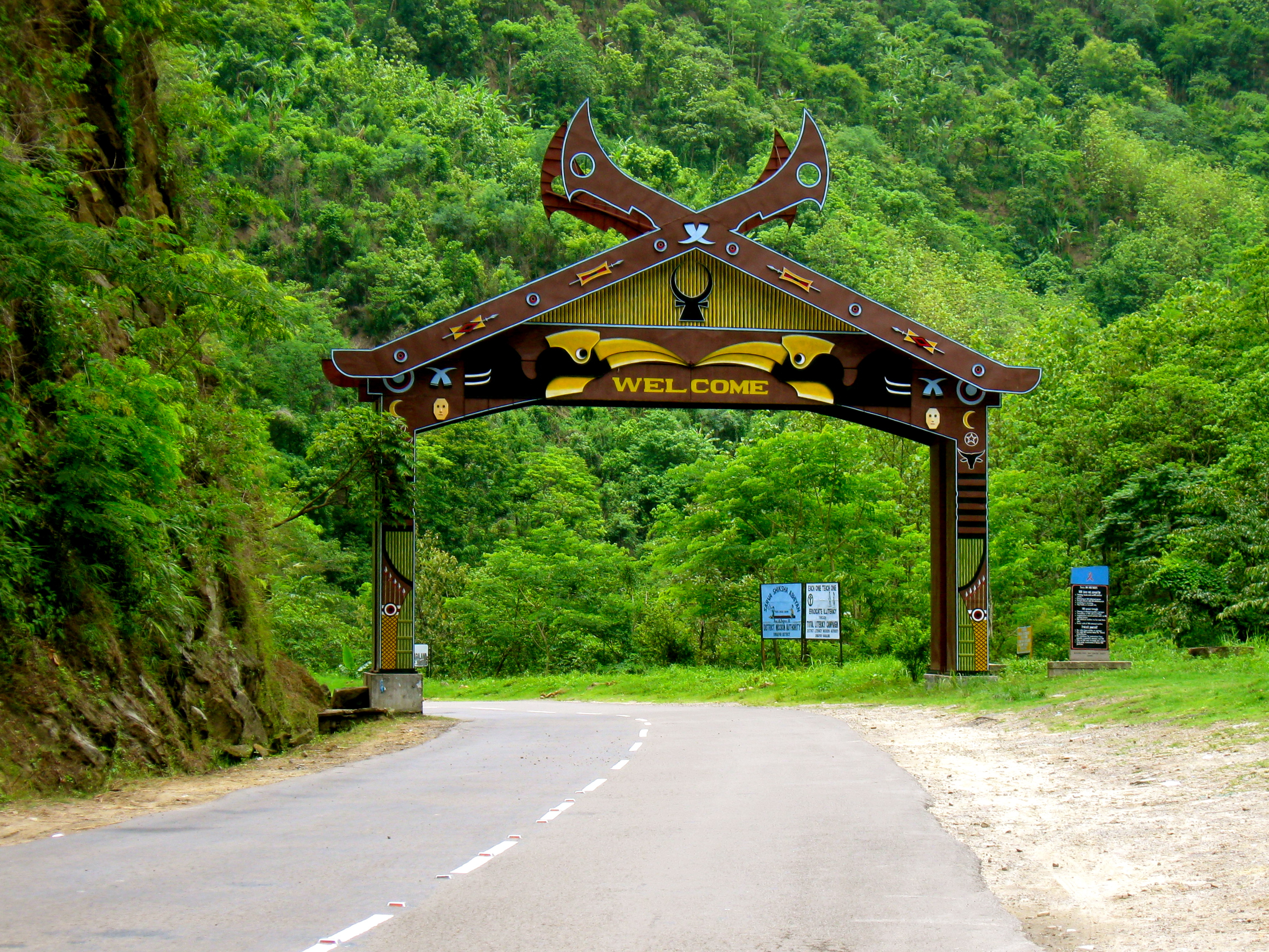 North Eastern Hilly Capital Kohima
