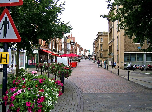 Westgate Street looking southeast - geograph.org.uk - 1432528