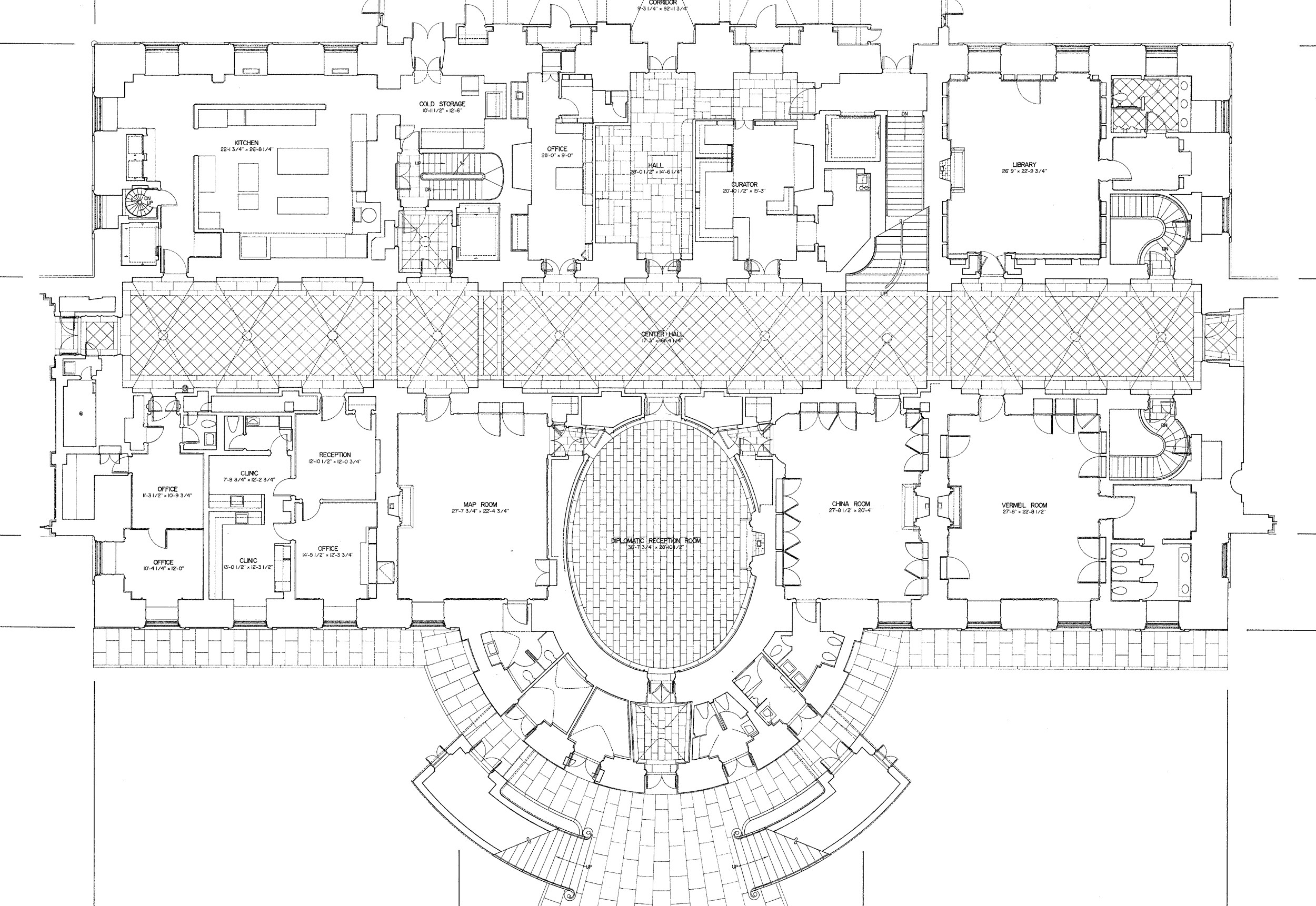 File white house floorg wikimedia commons House plans usa