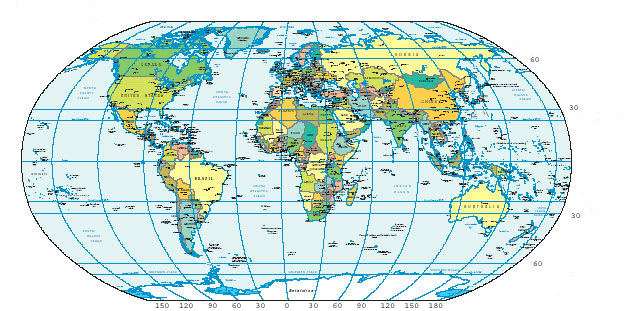 Us Map Lat Long