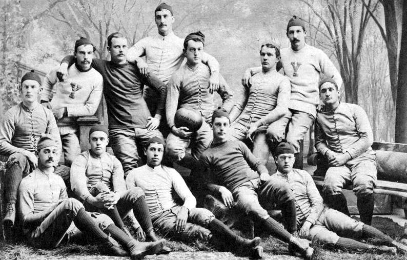 1882 Yale Bulldogs football team - Wikipedia