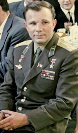 Yuri Gagarin in 1963