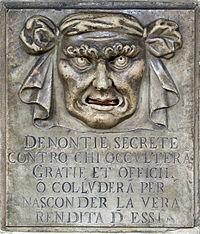 « Bouche de dénonciation » (Venise)