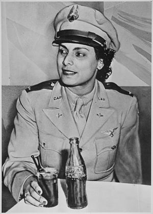 Willa Brown - Brown as a lieutenant in the U.S. Civil Air Patrol