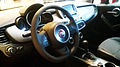 """ 15 - ITALY - Fiat 500X - suv iteriors 4x4 version - very cool lounge cockpit luxury optional - sports steering wheel.jpg"