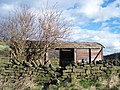 'Old' Railway Carriage on Mill Lee Road, Low Bradfield - geograph.org.uk - 713724.jpg