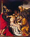 'Pieta' by Agostino Carracci, The Hermitage.JPG