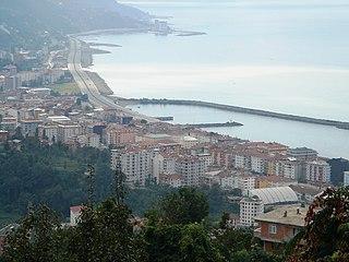Town in Black Sea, Turkey