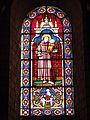 Église Notre Dame et Saint-Junien de Lusignan, vitrail 06.JPG