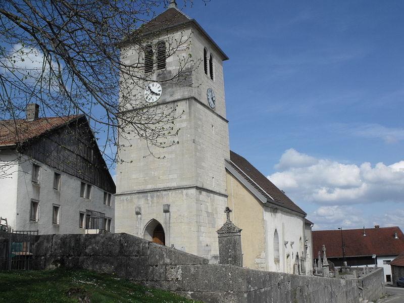 Église Saint-Antoine de Cernay-l'Église, Doubs, France
