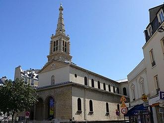 Grenelle - L'église Saint-Jean-Baptiste de Grenelle