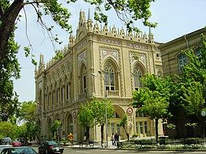 Musa Naghiyev - Ismailiyye building on Istiglaliyyat Street in Baku