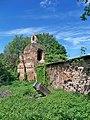 Вежа, оборонні мури монастиря бригіток.Фото.jpg