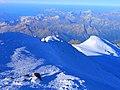Вид с Западной вершины Эльбруса. Кабардино-Балкария.jpg