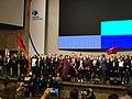 ВсОШ по праву. 2019. Сборная Москвы исполняет гимн Москвы.jpg