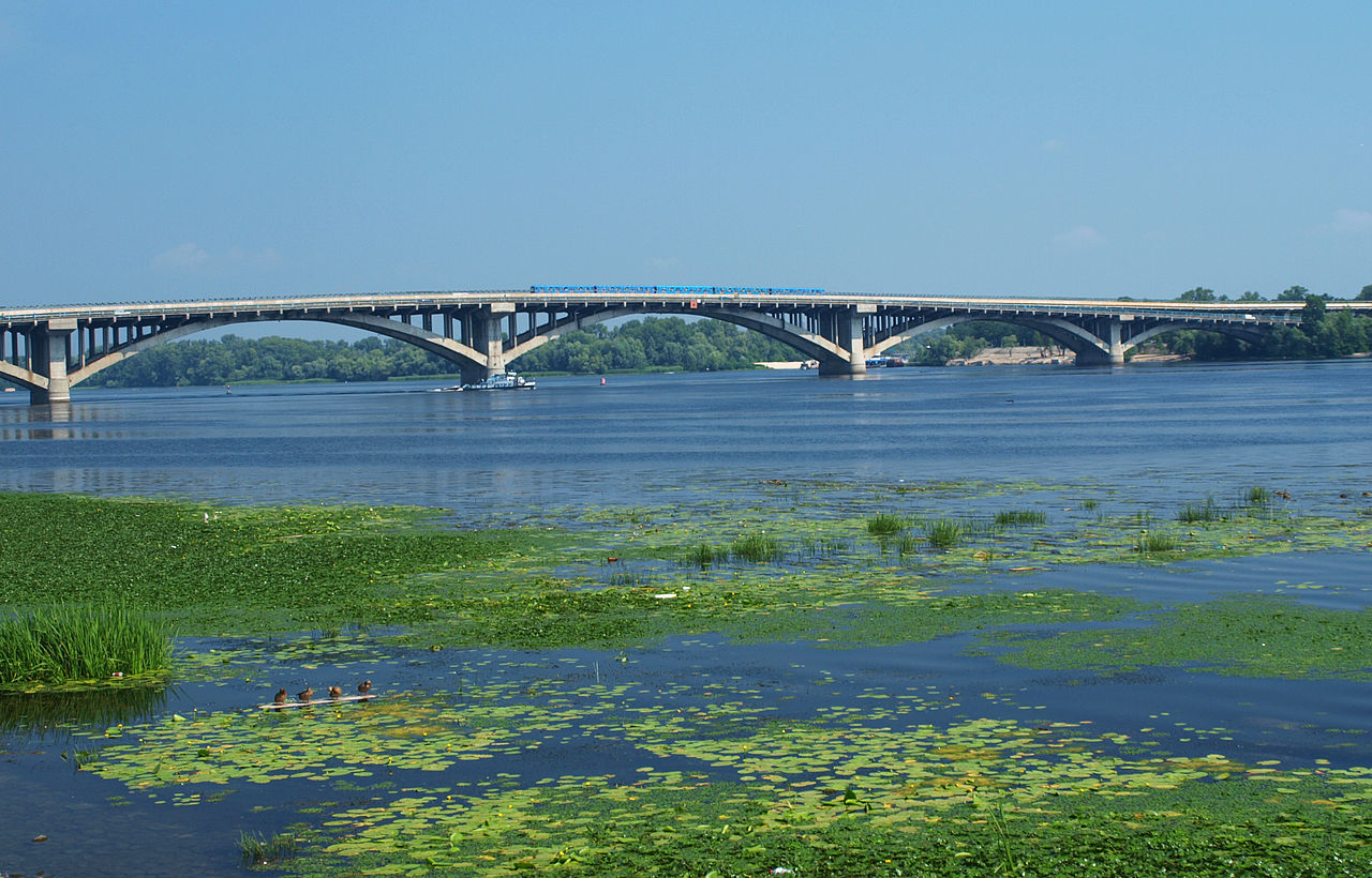 [Dnieper River, Ukraine]