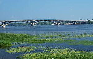 Dnieper - The Dnieper River in Kiev, Ukraine
