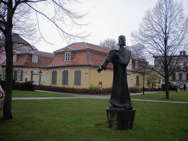 Дом Лессинга в Вольфенбюттеле и Натан Мудрый. 2008 год
