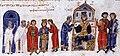 Император Михаил III венчает Василия и Евдокию.jpg