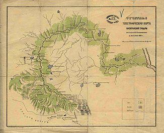 Topographic map of Vasyugan Tundra (1882)