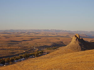 Karatau Mountains - Karatau Mountains in area of the city of Kentau
