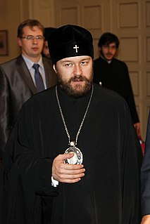 Hilarion (Alfeyev) Bishop in Russian Orthodox Church