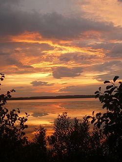 Озеро Рюмниково. Закат.JPG
