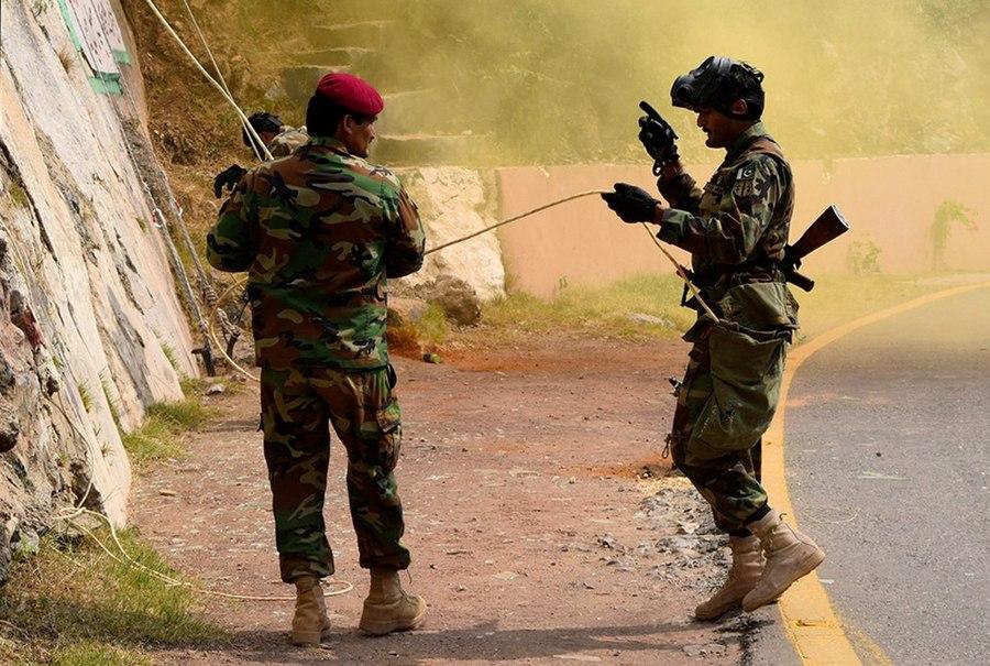 Первая совместная тренировка по горной подготовке в рамках российско-пакистанского тактического учения «Дружба-2016» (9)