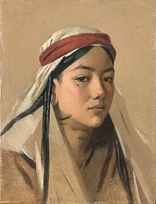 Портрет бачи, 1867-1868