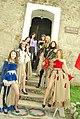 Фестиваль середньовічної культури Срібний Татош 2012, колекція середньовічного одягу.jpg