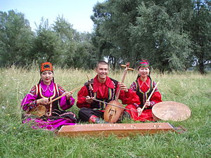 Khakas people - Image: Хакасы