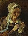 Хруцкий Старуха вяжущая чулок(1838).jpg