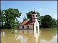 Црква Мајке Ангелине Купиново - Поплава 2014. - panoramio.jpg