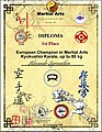 Чемпион Европы по Martial Arts С. - Петербург 1993.jpg