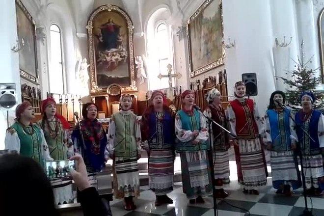chtchedryk, ensemble vocal kalinka, cathédrale de l'Assomption de la bienheureuse Vierge Marie d'odessa.