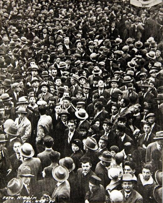 הספר הלבן מחאת יהודי ורשה 1930 YIVO