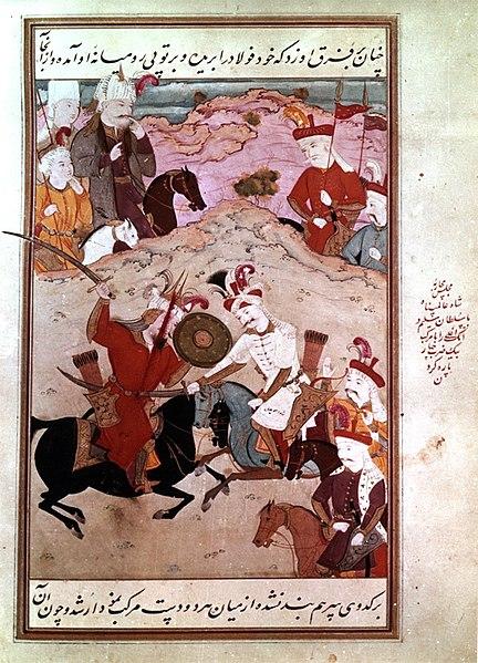 File:شاه اسماعیل در جنگ چالدران.jpg