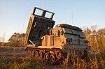 多連装ロケットシステム 自走発射機M270(訓練検閲火力戦闘・第1特科群).jpg