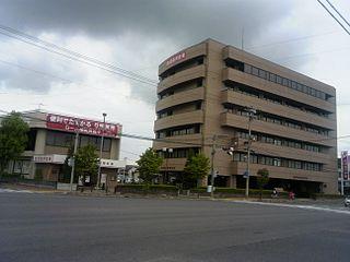白河信用金庫本部(左は新白河支店)
