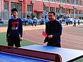 雁塔 陕师大附中分校在打乒乓球 27.jpg
