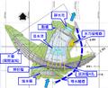 雙溪水庫大壩及下游發電廠布置圖.png