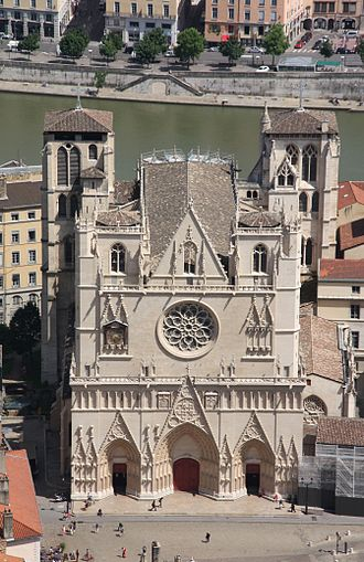 Lyon Cathedral - Lyon Cathedral.