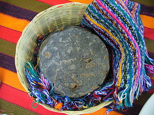 Corn tortilla - Tortillas of blue corn