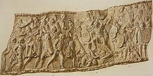 086 Conrad Cichorius, Die Reliefs der Traianssäule, Tafel LXXXVI