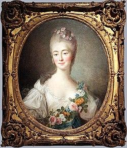0 Versailles musée de l'Histoire de France - Portrait de la comtesse Du Barry en Flore - F-H Drouais (1).JPG