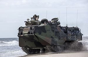 Assault Amphibious Vehicle - Image: 1 6 conducts ship to shore assault 150413 M PJ201 028